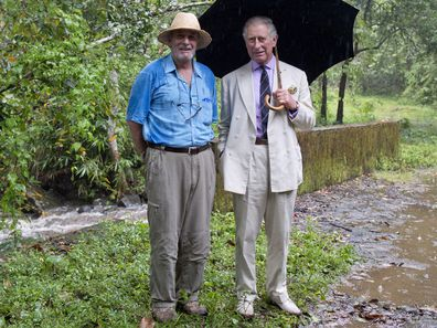 Mark Shand with brother-in-law Prince Charles in 2013.