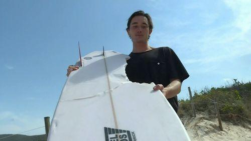 Sydney surfer's narrow escape after shark attack near Seal Rocks