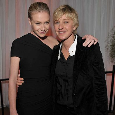 Ellen DeGeneres and Portia De Rossi in 2008.