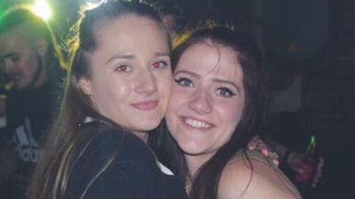 Natasha Rowley with her sister Bryanna. (Facebook)