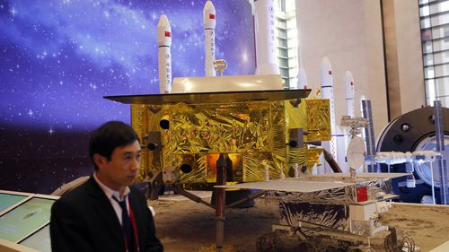 The official China Central Television said the Chang'e4 probe touched down at 10.26am on Thursday, January 3.