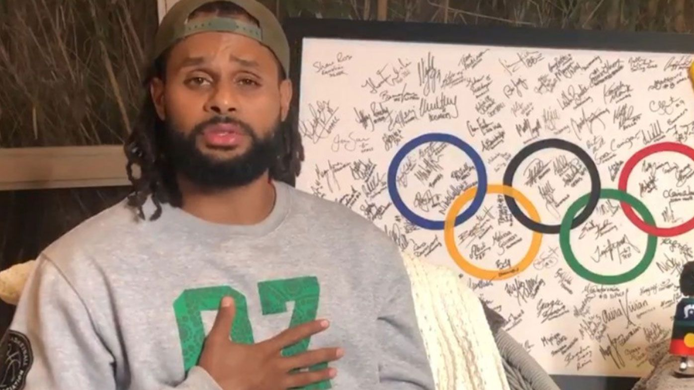 'Absolutely gutted' Patty Mills has message for Aussie Olympians as Tokyo Games set for 2021 postponement