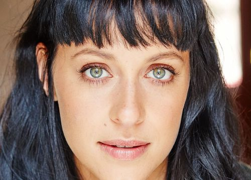 Actress Jessica Falkholt who was dragged out of the car by passing strangers who have now been thanked.