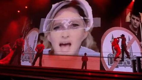 Madonna's swastikas