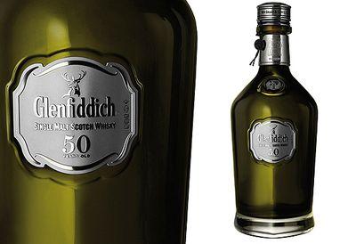 $24,999 Glenfiddich 50-year-old Scotch