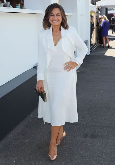 Lisa Wilkinson, in a Celine, 2016