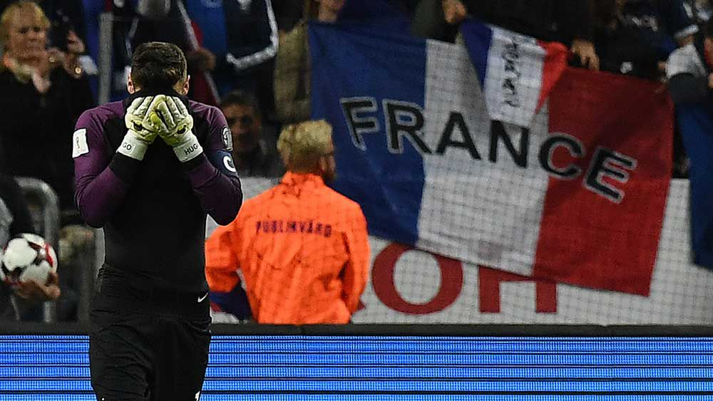 Hugo Lloris: France goalkeeper's howler gifts win to Sweden in WCQ