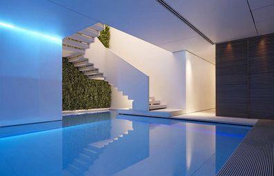 Conservatorium Hotel lap pool