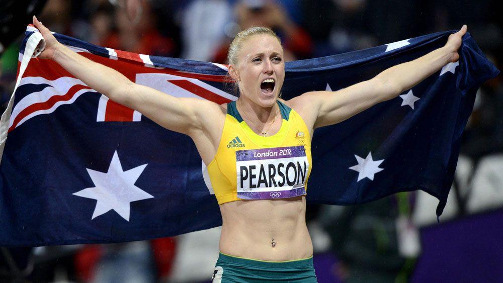 Sally Pearson. (AAP)
