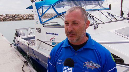 Charter operator, Tom Di Vittorio said his livelihood will be affected.