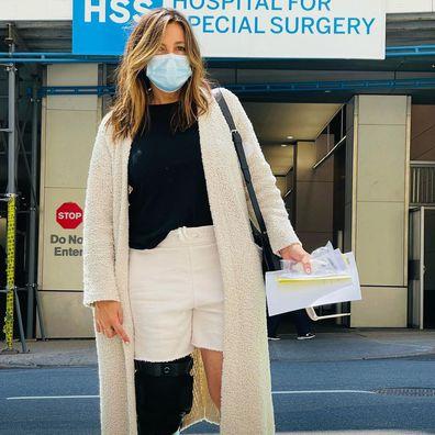 Mariska Hargitay suffers multiple injuries.