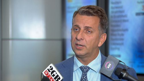 Transport Minister Andrew Constance said the increase was in line with inflation. Picture: Supplied