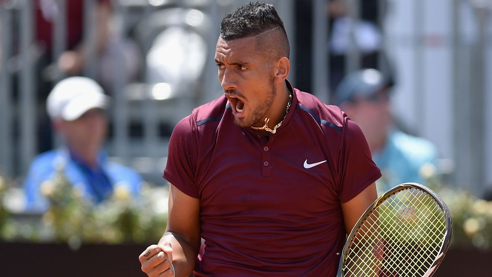 Kyrgios rising fast amid the controversy
