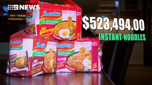 Nearly $1.5 million has been spent on junk food for prisoners across Victoria. Picture: 9NEWS