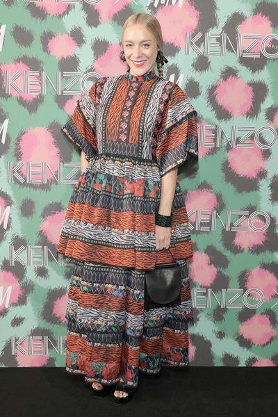Chloe Sevigny at H&M x Kenzo