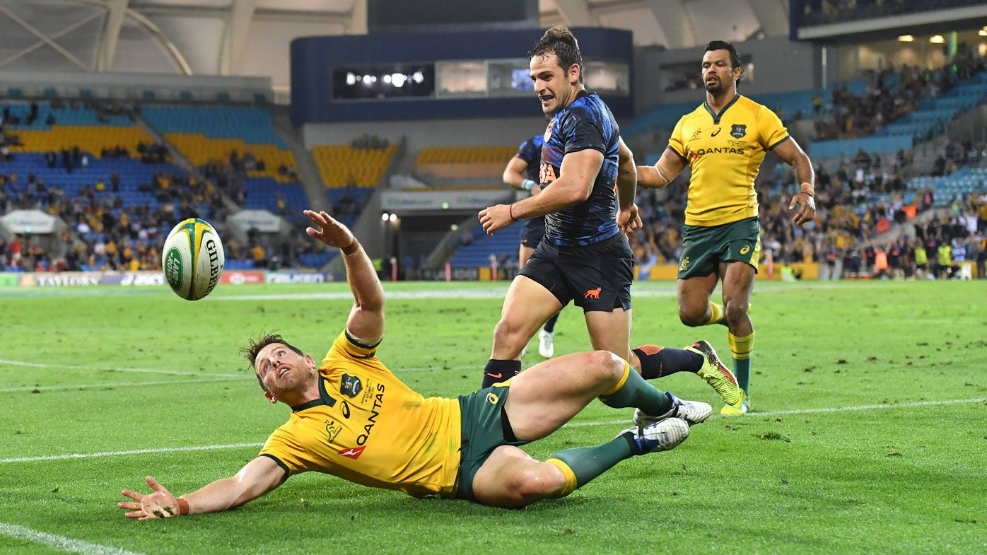 Argentina upset Wallabies as Israel Folau butchers game-winning try
