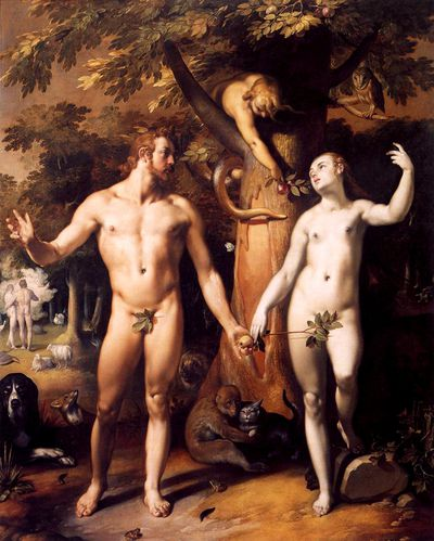 The Fall of Man, Cornelis van Haarlem (1592)