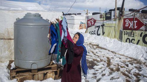 Ahdla, a Syrian refugee