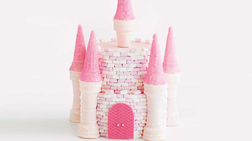 The Magic Kingdom castle birthday cake_thumb