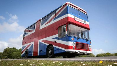 Spice Girls Bus Airbnb