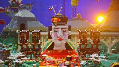 Sarah and Fleur reveal their gorgeous geisha temple creation