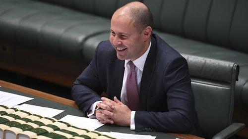 "Treasurer Josh Frydenberg said the bill ""puts more money in (Australians') pockets""."