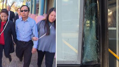 Bus driver to fight charges over sickening pedestrian crash