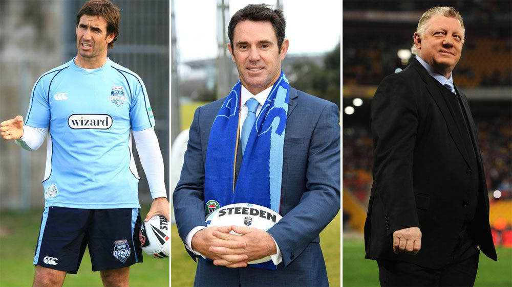 Brad Fittler to bring Andrew Johns,Phil Gould to Blues if appointed NSW coach