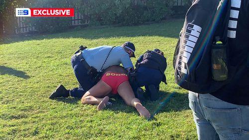 Man arrested at Bondi Beach - coronavirus