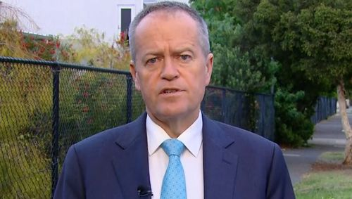 """I'm not going to stand here and say someone on $260 a week is doing it easy,"" Mr Shorten said."