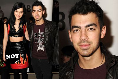 Joe Jonas is hot, no questions asked. But that DJ chick and her fiery leather? Please.