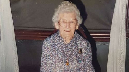 Jessie Grace Lauder was 82 when the man first attacked. (Supplied)