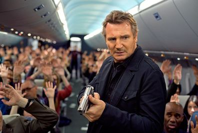 Liam Neeson plays a US Air Marshall in the 2014 film Non-Stop.