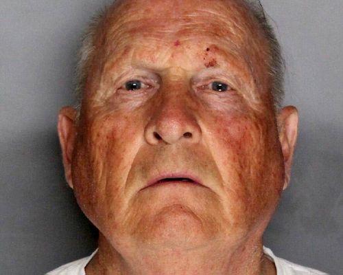 The booking photo of Joseph James DeAngelo, 72, in Sacramento, California. (EPA)