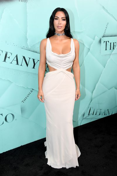 Kim Kardashian attends the Tiffany Blue Book Collection launch at Studio 525 on October 9, 2018 in New York City.