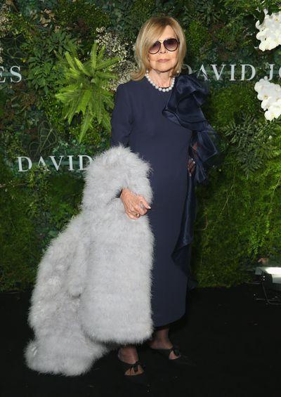 Fashion designer Carla Zampatti