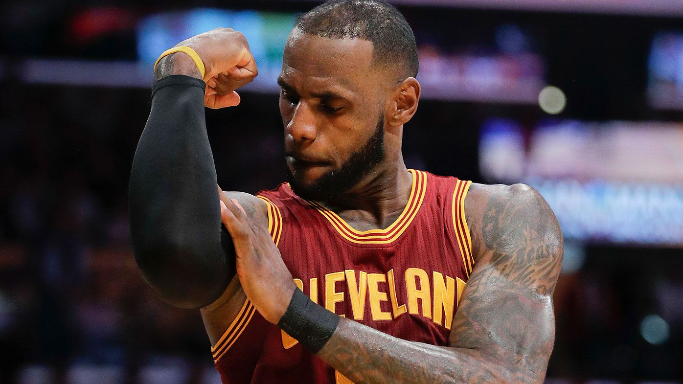 Cleveland fans aren't burning LeBron James jerseys this time