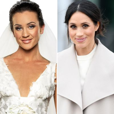 Ines and Meghan Markle