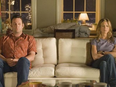 Vince Vaughn and Jennifer Aniston in The Break Up.