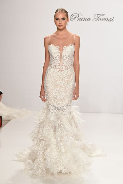 Pnina Tornai For Kleinfeld, Spring 2016, New York Bridal Fashion Week