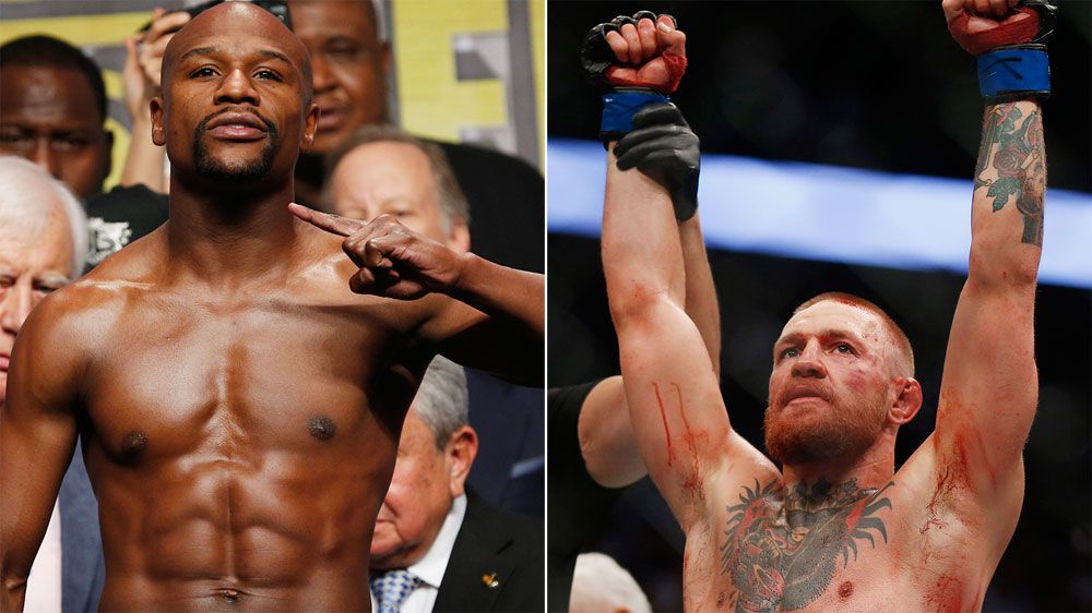 Conor McGregor faces legal action if he resorts to MMA tactics against Floyd Mayweather