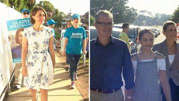 NSW election Gladys Berejiklian Michael Daley Liberal Coalition Labor Polling opens
