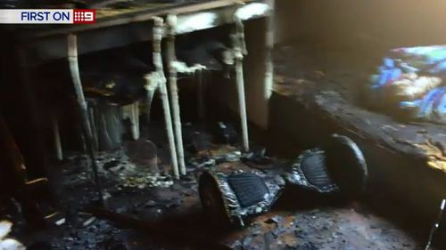 A hoverboard has exploded in a Berala home. (9NEWS)