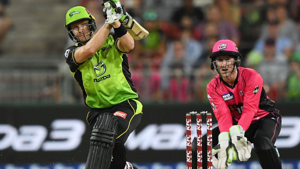 Watson stars in thrilling Thunder BBL win