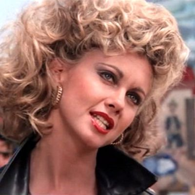 Olivia Newton-John as Sandy: Then