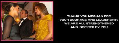 Beyonce, Meghan Markle, Oprah interview, reaction