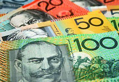 Australian banknotes (Getty)