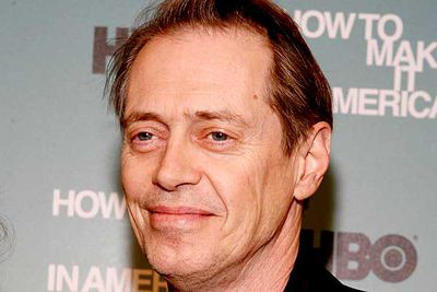 "Buscemi is best known for playing that weird-looking, weaselly guy in... well, pretty much every movie he's ever starred in. But soon you'll see him on TV playing the improbably named Nucky Thompson in <I><B>Boardwalk Empire</B></I>, an upcoming HBO series <a href=""http://en.wikipedia.org/wiki/Boardwalk_Empire"" target=""new"">set in New Jersey during the Prohibition era</a> (when alcohol was banned and wise guys ruled supreme). Martin Scorcese directed the pilot, proving that big-screen directors can also make the leap to TV."