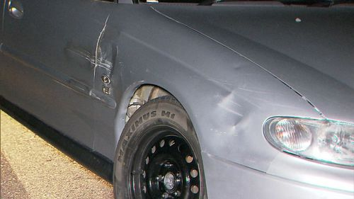 The pair led police on a high-speed chase for more than half an hour. (9NEWS)