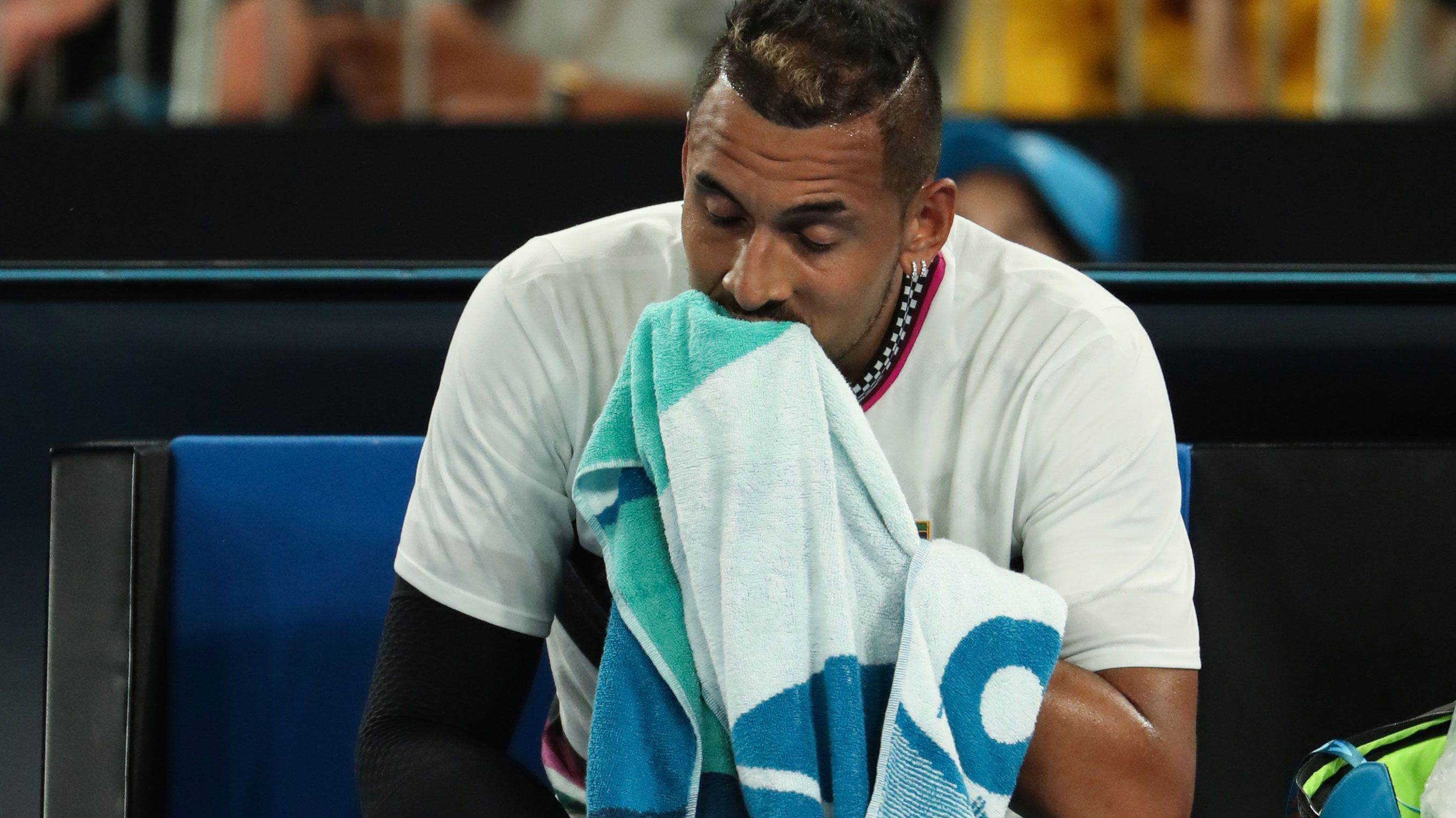 Nick Kyrgios proves again that showtime comes before results in Australian Open loss